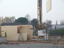 Casa di Oppeano, inizio lavori