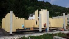 Inzio costruzione casa Valdagno