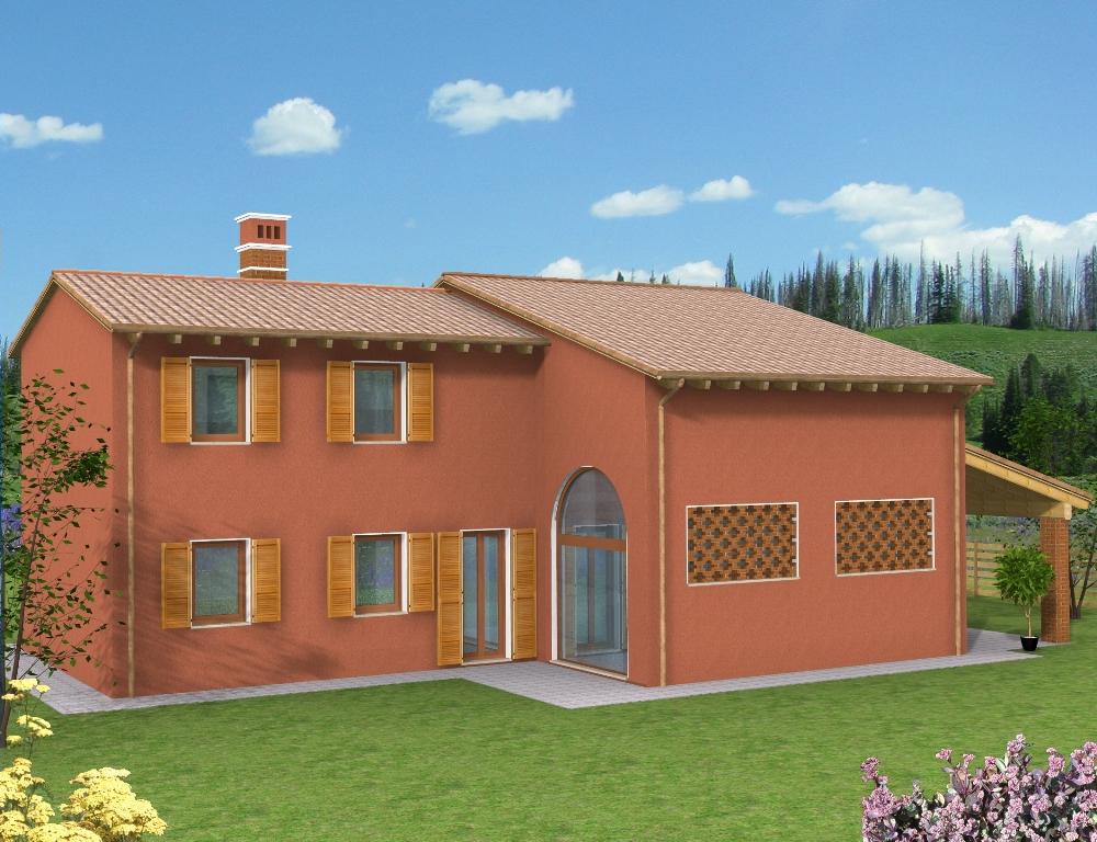 Casa a Verona Rossa vista fronte