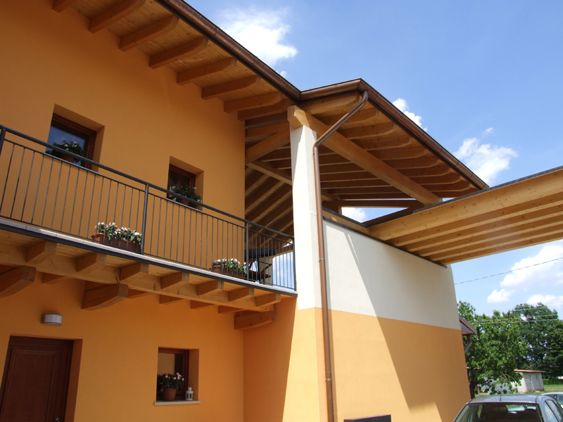 Case prefabbricate in provincia di pordenone for Piani di campagna bassa con garage indipendente