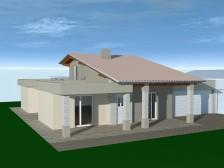 Valdagno 2013 Casa prefabbricata in Legno Vista 1